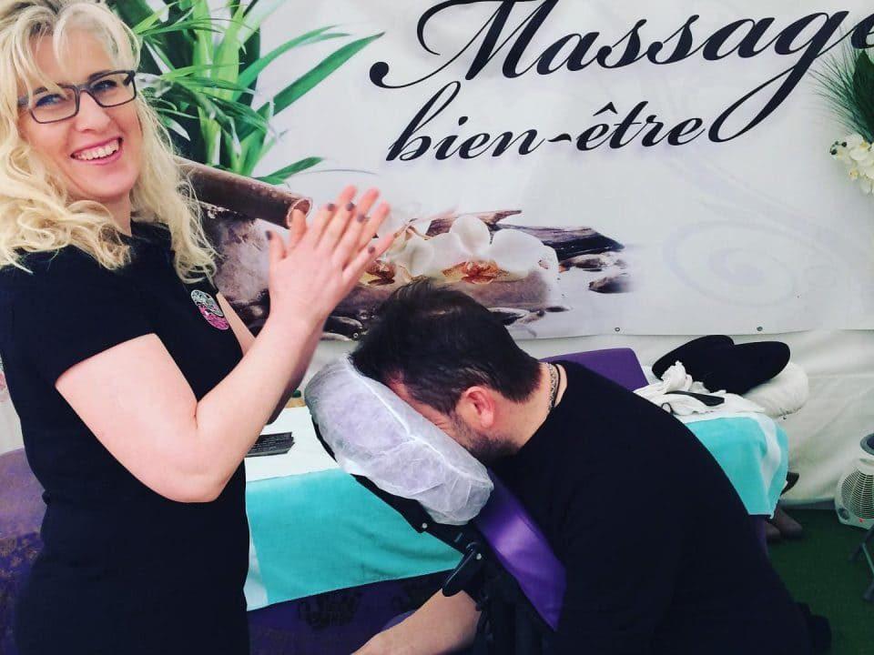 Salon du Bien Etre Sandra Massage